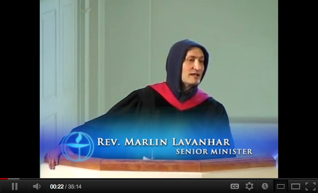 Rev. Marlin Lavanhar on Trayvon Martin and the New Jim Crow