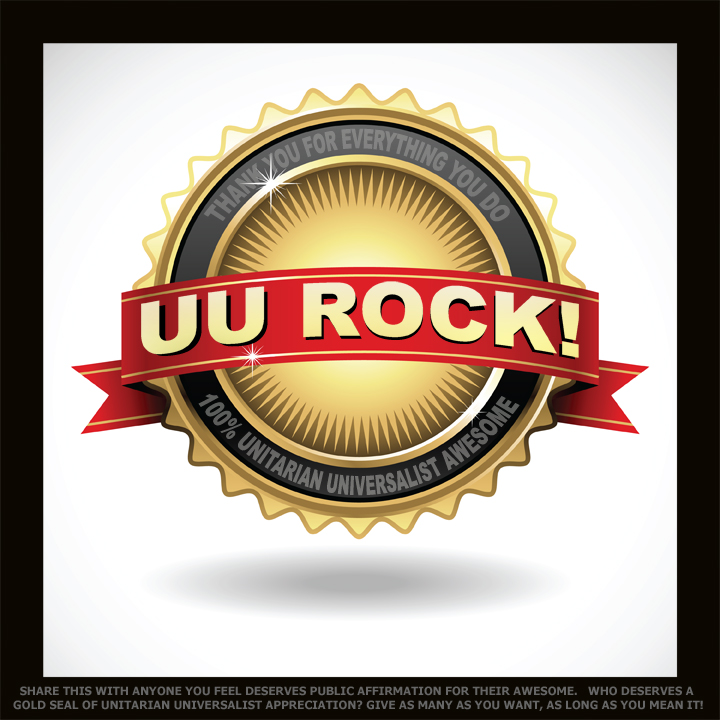 UU GOLD SEAL OF AWESOME APPRECIATION