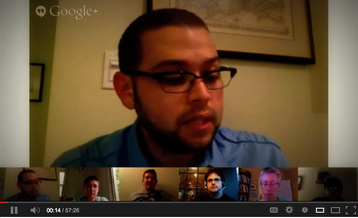 Millennial UU Innovators Discussion Google Hangout