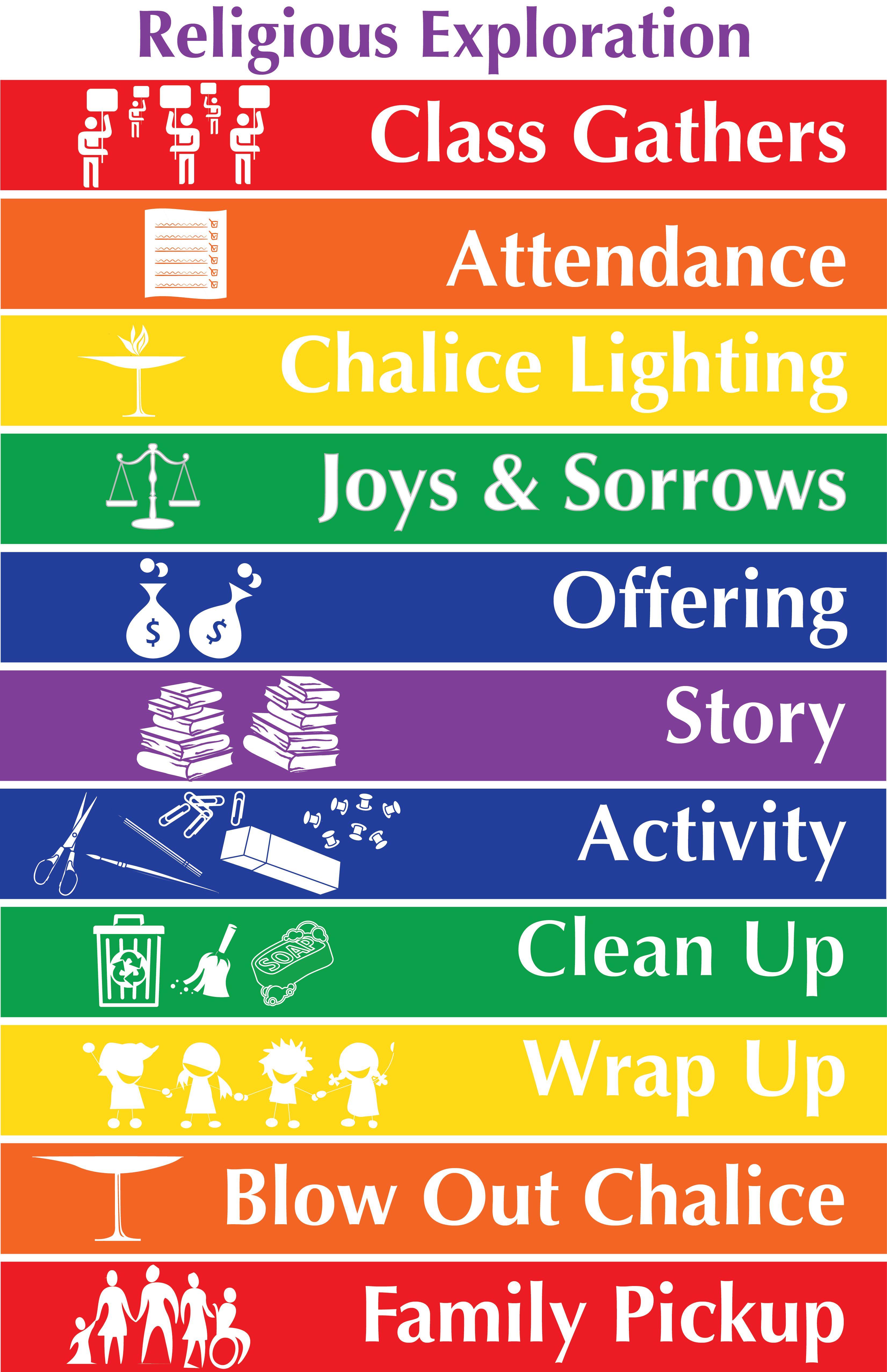 Religious Education Schedule Poster – UU PLANET