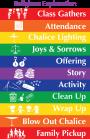 classroom schedule poster