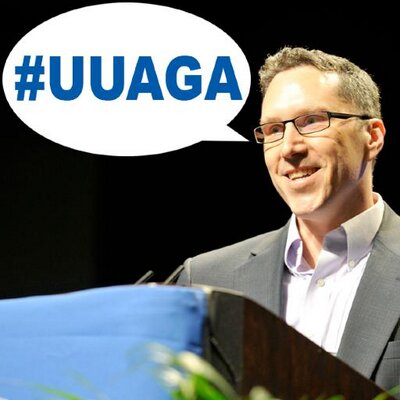 Peter Bowden at #UUAGA