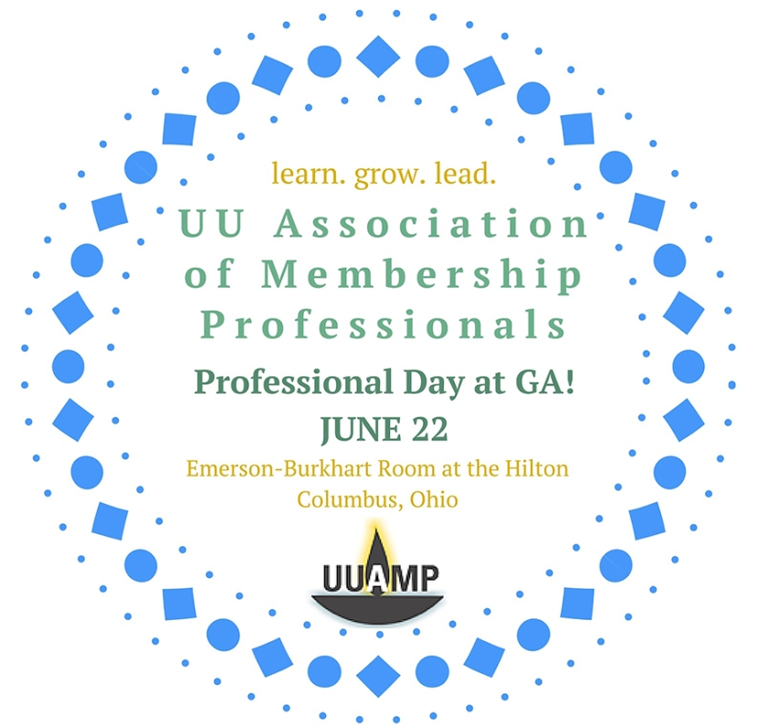 GA Program for the UU Association of Membership Professionals