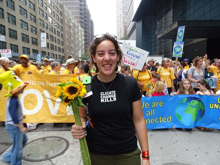 UUs at the Peoples Climate March
