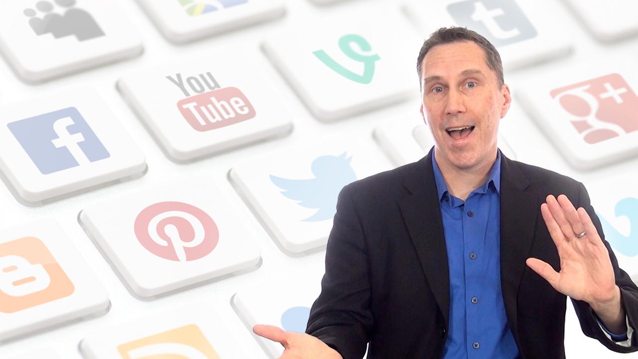 Peter Bowden Talking Social Media