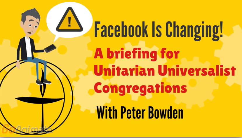 Facebook Changes: What Your UU Congregation Needs to Know
